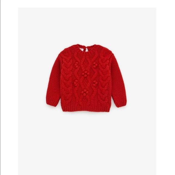 Zara Other - 💜3/30$💜Zara red sweater